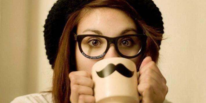 girl-coffee-mustache