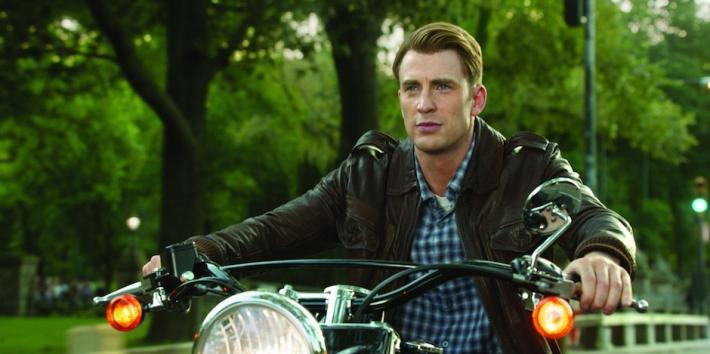 Chris Evans as Captain America Steve Rogers from Marvel's The Avengers