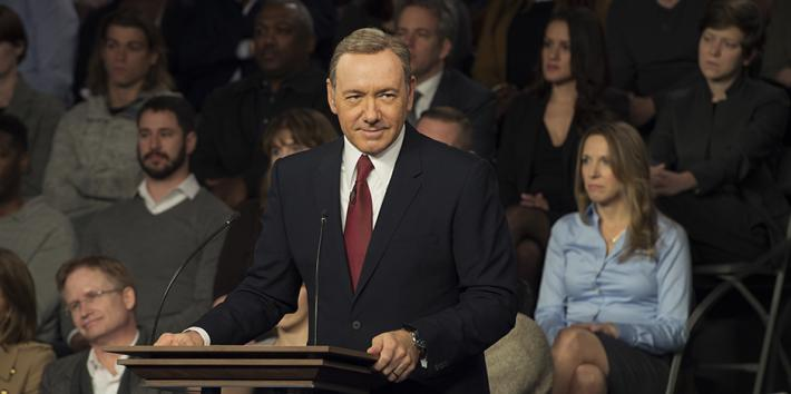 House of Cards, Frank Underwood, Kevin Spacey