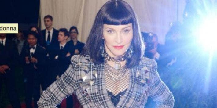 Madonna Black Hair IMDB