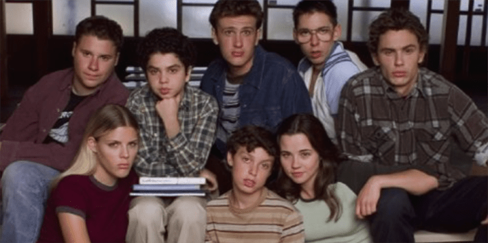 Freaks and Geeks, Netflix, James Franco