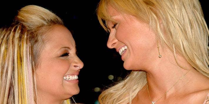 Nicole Richie Paris Hilton