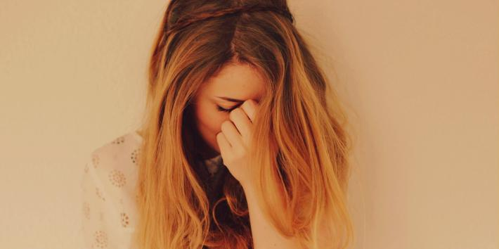 sad breakup girl