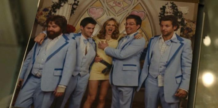 wedding scene From The Hangover