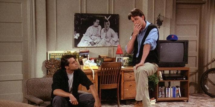 Matt LeBlanc and Matthew Perry from Friends