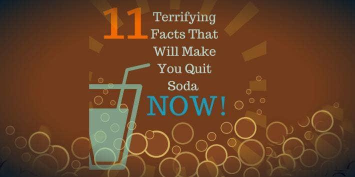 STOP drinking soda!