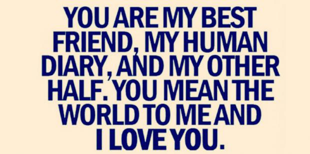 Beautiful words to tell someone you love them