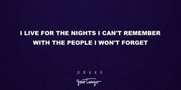 14 Drake Lyrics That Make Good Instagram Captions For Friends