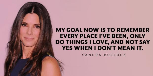 25 Quotes By Sandra Bullock About Success And Being Happy - YourTango