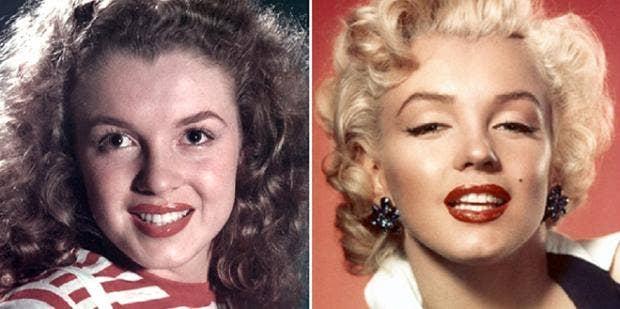 List Of Marilyn Monroe's Plastic Surgery On Face, Boob Job