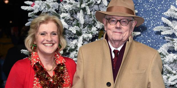 Michael Whitehall with gracious, Wife Hilary Amanda Jane
