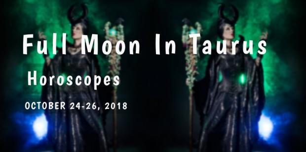 How The Full Moon In Taurus Affects Each Zodiac Sign From October 24-26, 2018
