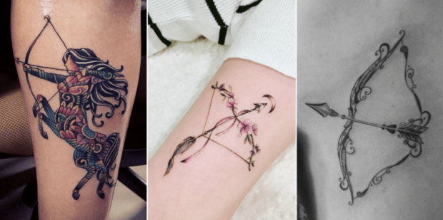 25 Best Zodiac Tattoos, Arrow Symbols And Meanings For -7222