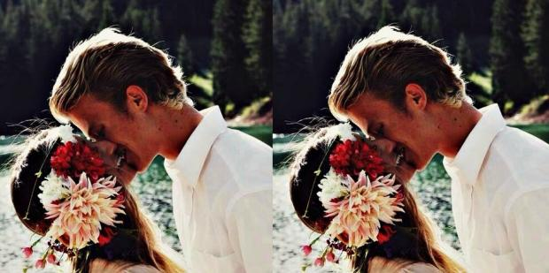 When a man is smitten