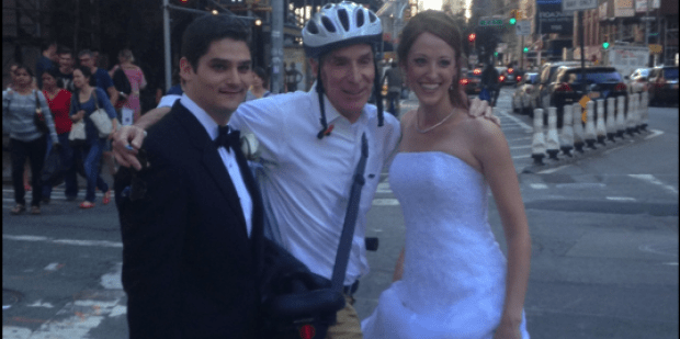 15 Celebrities That We Love For Being Wedding Crashers