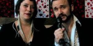 Claire Daniel and Matthew Glasson