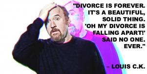 Louis C.K. Quotes On Divorce