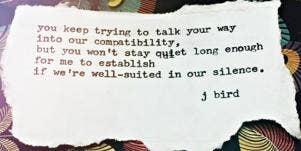 J.Birdsmith Poet Instagram Quotes