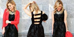 melanie pace: holiday fashion looks
