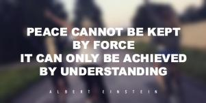 Quotes About Peace Albert Einstein
