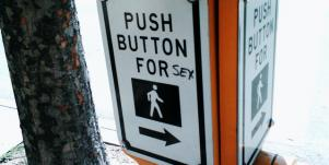 push button for sex sign