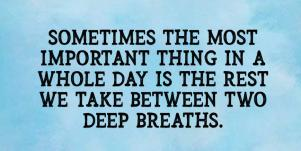 Breathe quotes for anxiety and stress