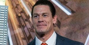 John Cena in a suit