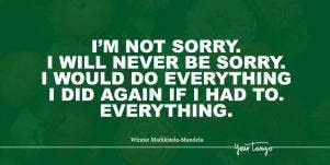 Winnie Mandela quotes