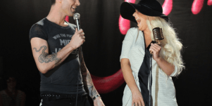 Adam Levine & Christina Aguilera