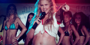 Amy Schumer I feel pretty movie trailer fat people