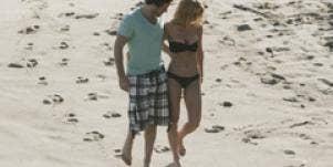 elizabeth from bachelor pad on the beach in bikini