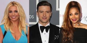 Britney Spears, Justin Timberlake, and Janet Jackson