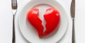 broken heart plate