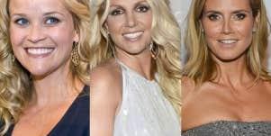Britney Spears, Heidi Klum & Reese Witherspoon