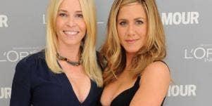 Chelsea Handler & Jennifer Aniston
