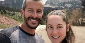 Chris Watts and Nichol Kessinger in American Murder: The Family Next Door
