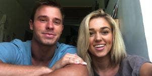 Christian Huff and Sadie Robertson
