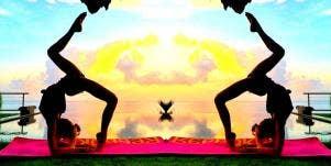 girls who do yoga