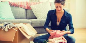 Tips For How To Organize & Declutter Your Home Using Marie Kondo's Konmari Method