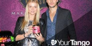 'Dancing With The Stars' Gleb Savchenko & Wife Elena Samodanova
