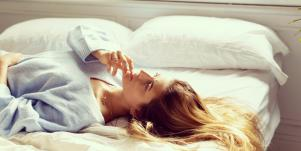 woman seeking stress relief