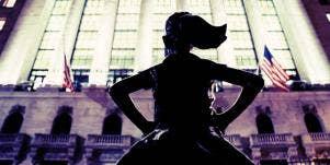 fearless girl international women's day women in workplace