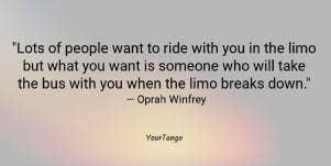 Oprah Winfrey friendship quote