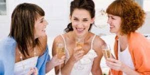 laughing single girlfriends women