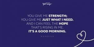 mandisa good morning friends