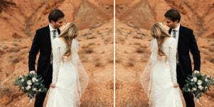 groom reactions to bride