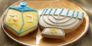 Hanukkah chanukah cookies