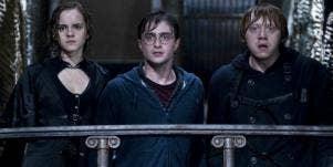 Harry Potter, Ron & Hermione: JK Rowling's Love Triangle