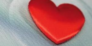 heart on screen