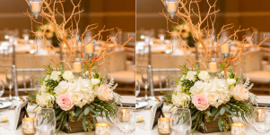 20 Stunning Rustic Wedding Centerpieces That'll Have Guests Swooning